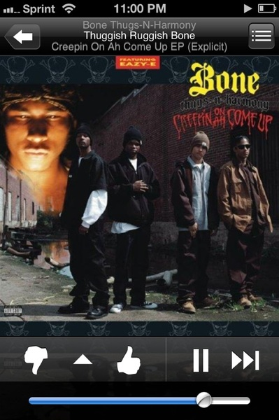 #NowPlaying Bone Thugs -N- Harmony - Thuggish Ruggish Bone