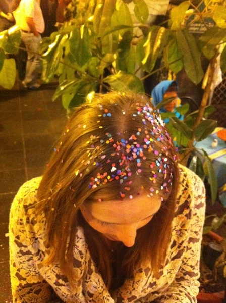 Oaxaca Christmas: we&#039;re all covered in confetti!
