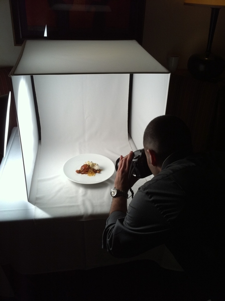 No.  We use inexpensive light box RT @whatsamatta_u @Rick_Bayless // that photo was beautiful, did a pro take it?