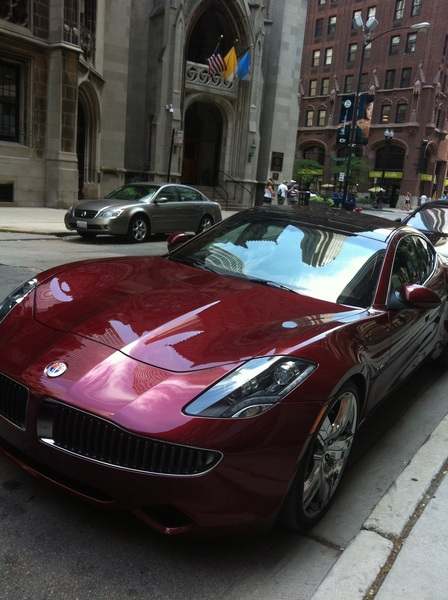 The Fisker Karma Hybrid... #Sweet