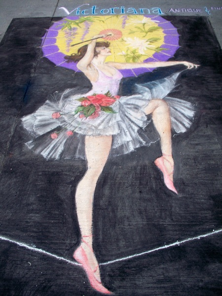 #Denver 2012 #ChalkArtFestival Artwork #Photo