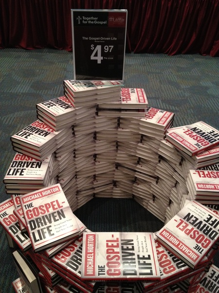Michael Horton&#039;s Gospel-Driven Life only $4.97 at the #T4G12 bookstore 