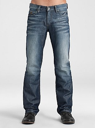 Check Out Men's Denim Desmond Jeans Flame Wash at Guess.com