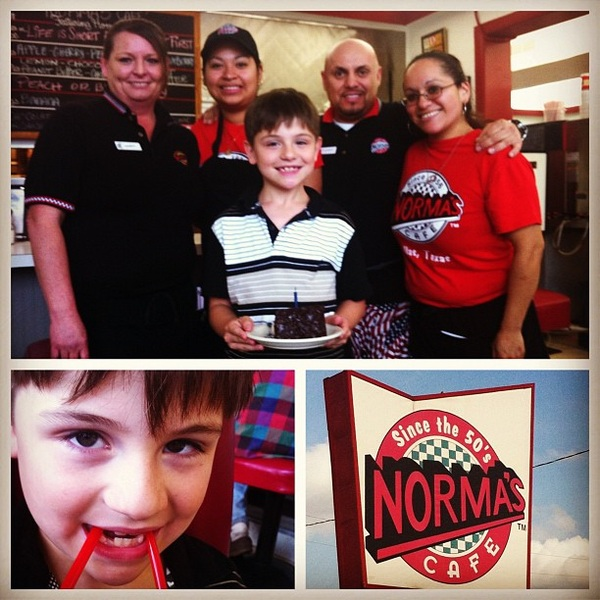 Thx to Audrey & the gang  @NormasCafe for making @Beauology's Bday Dinner #deliciouslyPERFECT