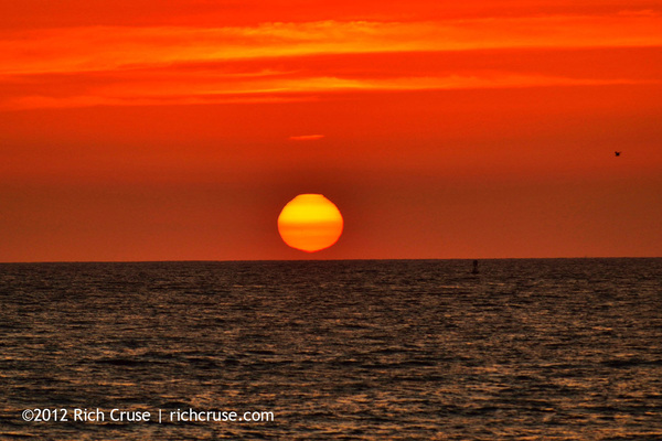 Sunset @VisitOceanside last night. @VisitCA @CarlNBCLA