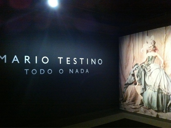 Todo o nada by Mario testino was great what  great photographer is he #todoenada #Mariotestino #rome