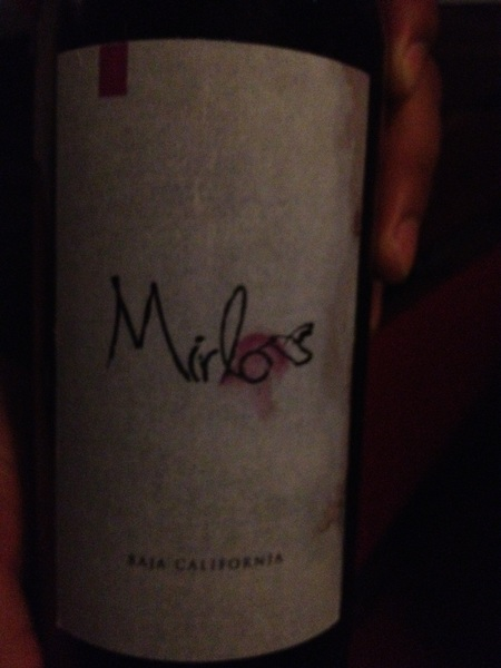 Mision 19: This rich, velvety merlot was beautiful with the slow-cooked beef tongue w verdolagas!