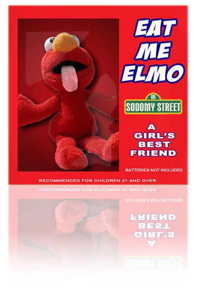 Presenting the all new Elmo toy from @theoriginaldoc - a girl's best friend (from @vickyvett
