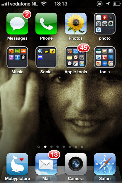 d amalucky :) #homescreen