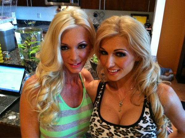 Me and the beautiful @DemiDantric going to rock it out today....