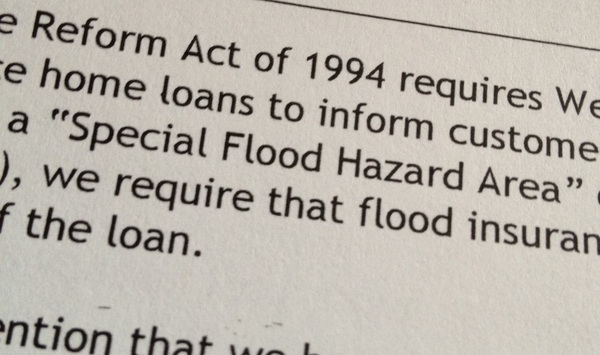 Got a letter today saying my property lies in a special flood hazard area. #noshit