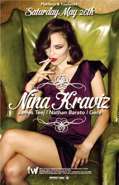 It's a @Rekids night tonight..... @NinaKraviz at @FootworkToronto !!