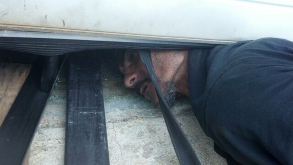 Think you've had a bad day... how about this guy... stuck for hours trying to break into the Brockton Rent-a-Center