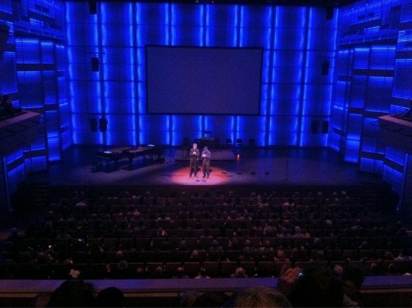 mr. Steve Reich himself! we zijn begonnen! #wmmf
