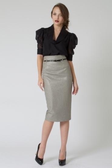 High Waisted Pencil Skirts Below The Knee | Jill Dress