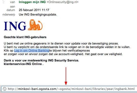 ING wilt weer mijn inloggegevens hebben...not #phishing #ing # ...