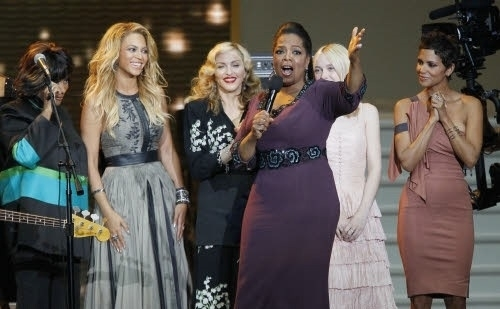 Beyonce wore a Catherine Deane gown on Oprah&#039;s Farewell Spectacular show