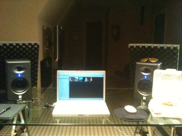 Up in the studio!! With #CanesChicken. chyea son