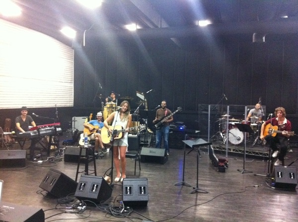 Last day of rehearsal B4 we leave 4 tour tomorrow!