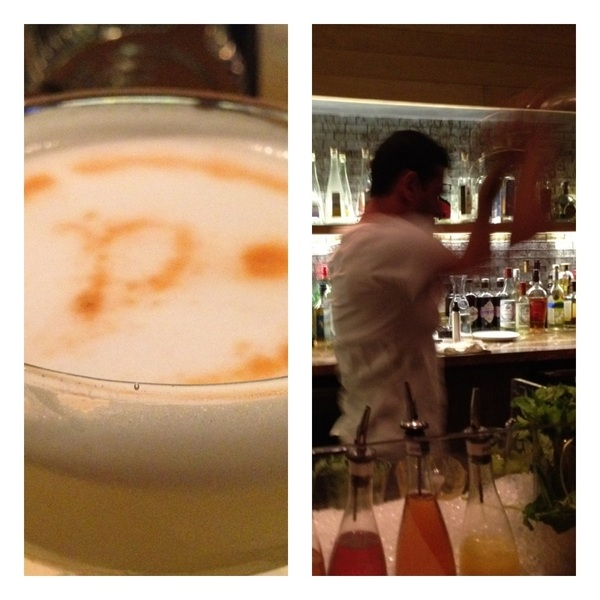 Post Emmy dinner at Picca. REALLY GREAT bar/cocktail program (yea! Pisco Sours), gr8 modern Peruvian food