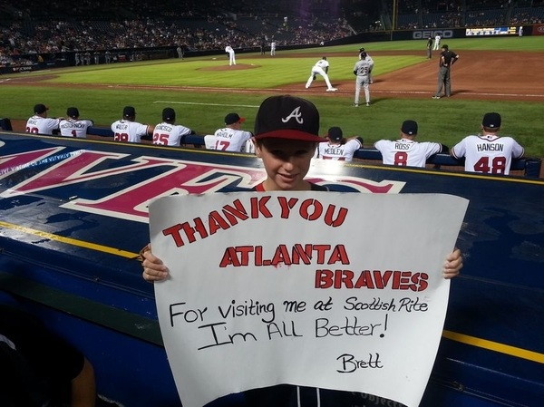 Photo of the Day: #BravesCountry, THIS is why we chop.