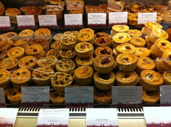Harrod&#039;s Food Halls: I could post 1000 pics, but the sect of meat pies is unlike anywhere else