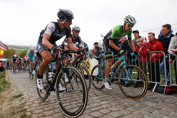 #RVV - PHOTO - What a race by @sepvanmarcke. We're proud! #TotallyCobbled