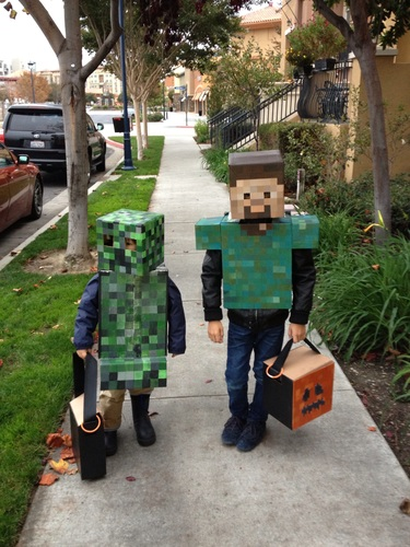 minecraft halloween kost me and kost me on pinterest. Black Bedroom Furniture Sets. Home Design Ideas