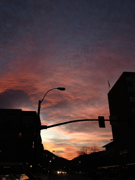 "From the ""pics or it didn't happen"" department re: beautiful #Boulder sunset..."