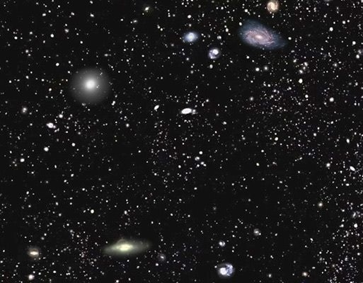 This image is of over a million galaxies. Each one has over a hundred billion stars.  Are we alone?