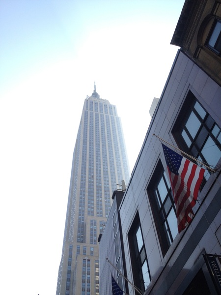 Excited about my first #Deloitte - #linkedin meeting in the #empirestatebuilding! 