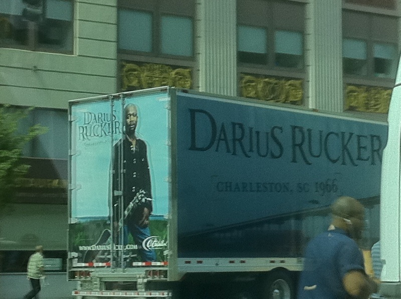 Darius Rucker HatB truck