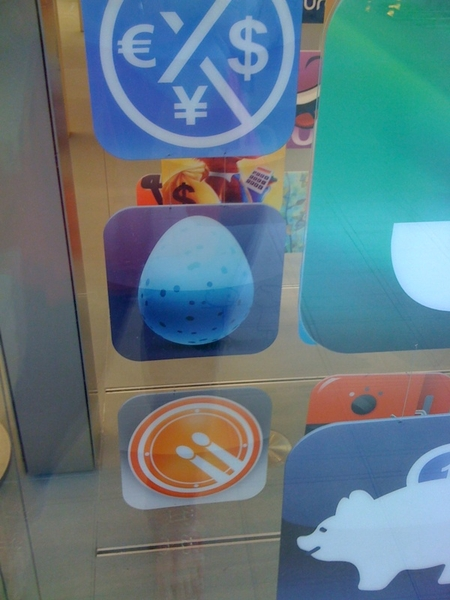 We have  @twittelator in the Sugar Land, Tx Apple store!