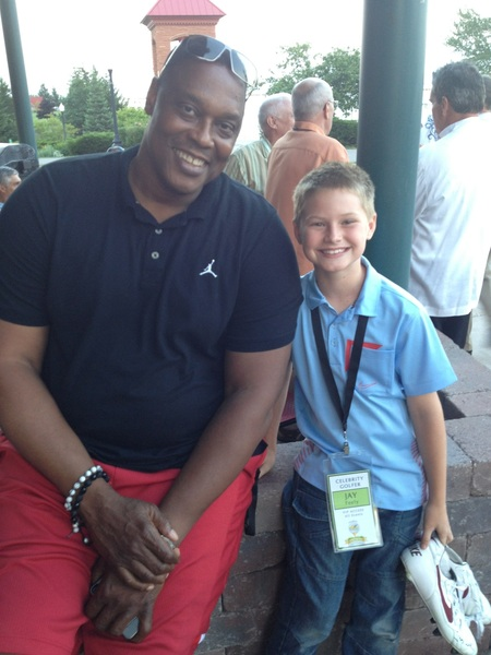 Here is Jace with Rick Mahorn