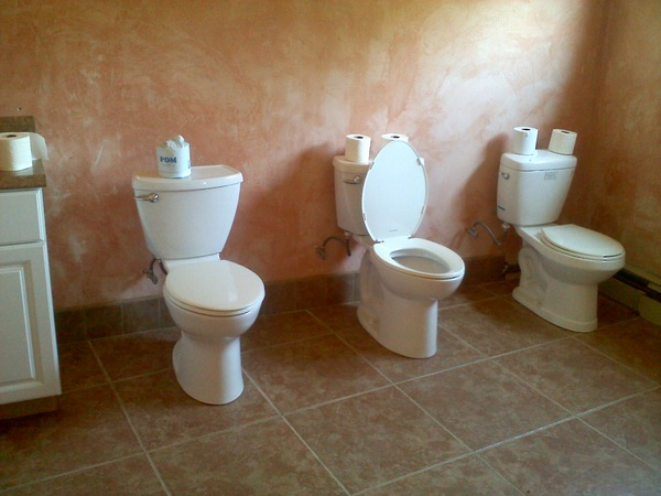 Shot a #wedding, here&#039;s the church #bathroom. #photographer #Taos #NM