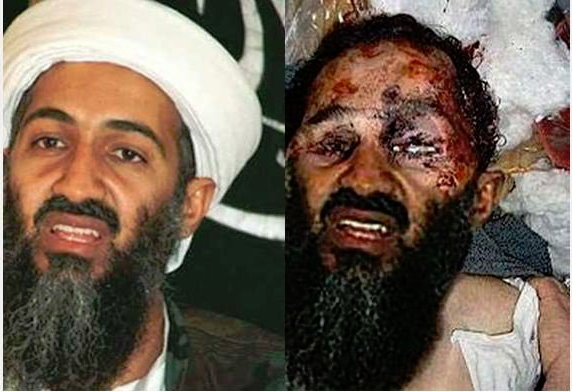 History according to photoshop #osama