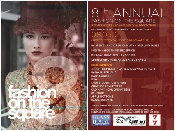 TONIGHT 8th Annual &quot;Fashion On The Square @Intercontinitial Hotel SF Live Fashion Show &amp; Performance by @DevTheChaser