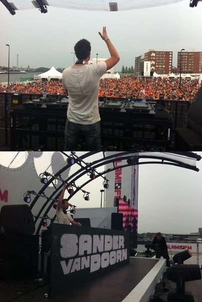 .@SandervanDoorn sluit het #slamfmqday feest af. Was een topeditie, thnx iedereen!
