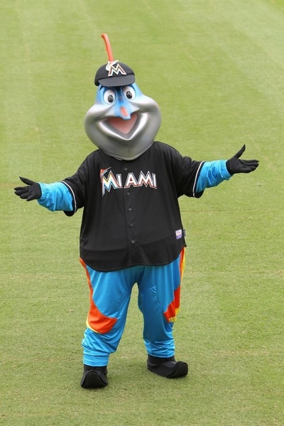 Billy the Marlin went to Fantasy Fest in Key West, FL. He's back!! All hail the Conch King...