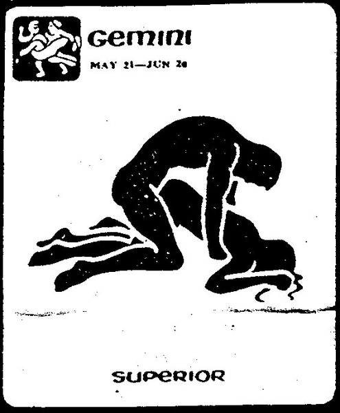 Gemini: May 21 - Jun 20 ''Superior'' (Posisi Sex Sesuai Zodiak)