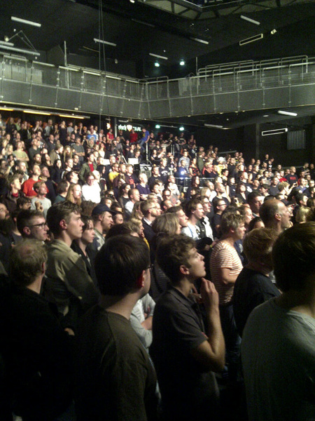 The @Laibach #Incu12 crowd