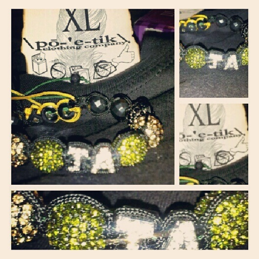 #LaborDay #West #Indian #Pride | #Customized #Shamballa #Bracelets | #poetikempire #PicStitch