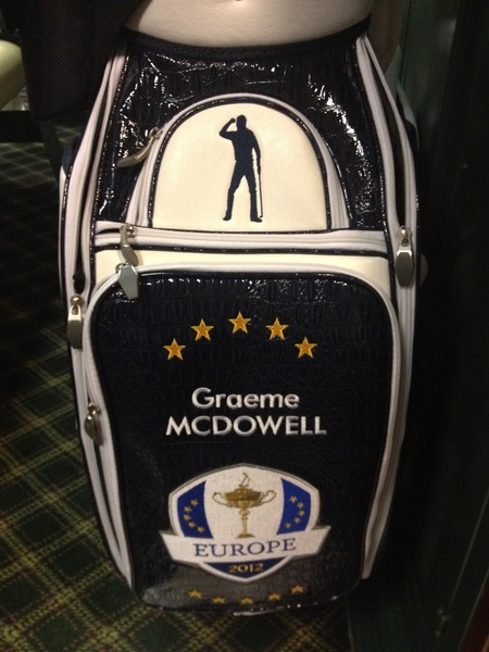Some of my most prized possessions are my Ryder cup