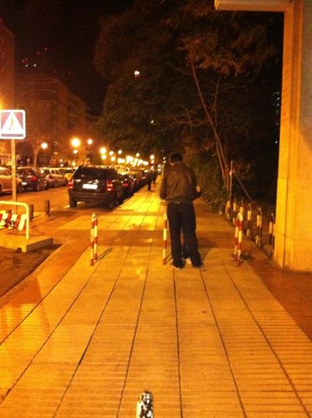 pilladas calle