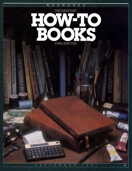 How to books #Aloha #Mormonad #LDS #twitterstake