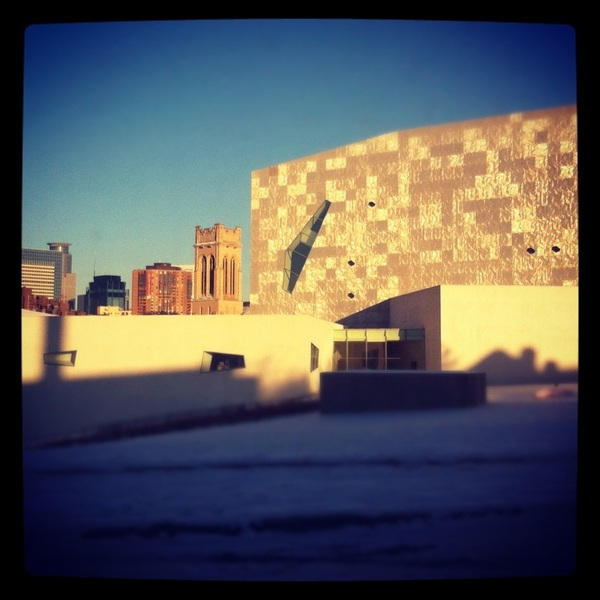 Spent two great hours at the @walkerartcenter with @ackermangruber. Thanks for chatting and enjoying the art together.