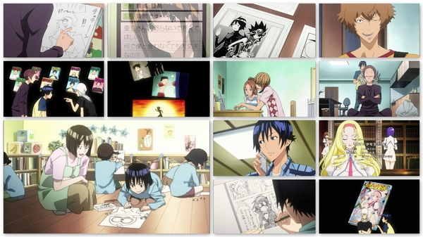#Bakuman ep18: glad some of this idealized crap is starting to fade, good episode. #anime