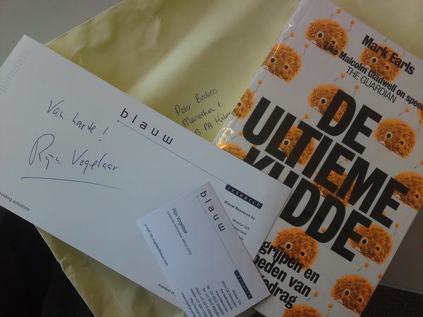 Thanks! (geweldige titel btw, Corporate Enthousiasm Officer) @rijn