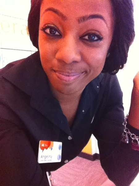 At work bored out my damn mind! Lol 
