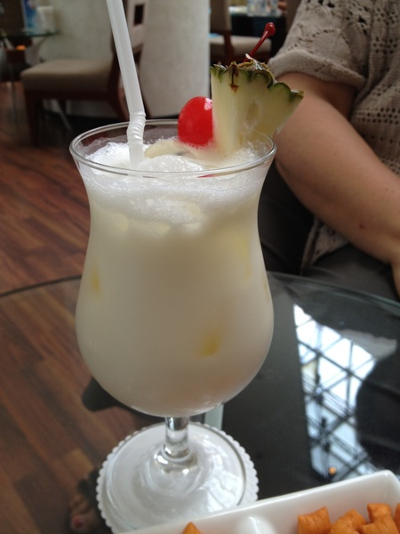 My @scottevest likes pia coladas - @ Swissotel The Stamford Singapore